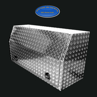 Full Open Door 1700x600x820 Aluminium Tool Box + FREE BINS image